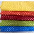 Little dot Lote 5 Fat Quarters
